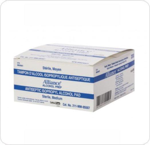 45e4563777899 Prep Alcohol Medium Sterile MM-05507 SimpliBuy